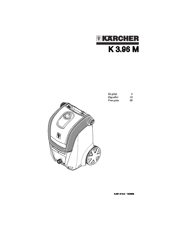 Kärcher K 3.96 M Electric Power High Pressure Washer