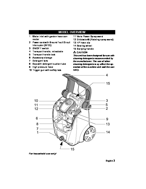Karcher Pressure Washer Parts Diagram Html