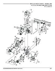 MTD 890 Brushcutter Lawn Mower Parts List