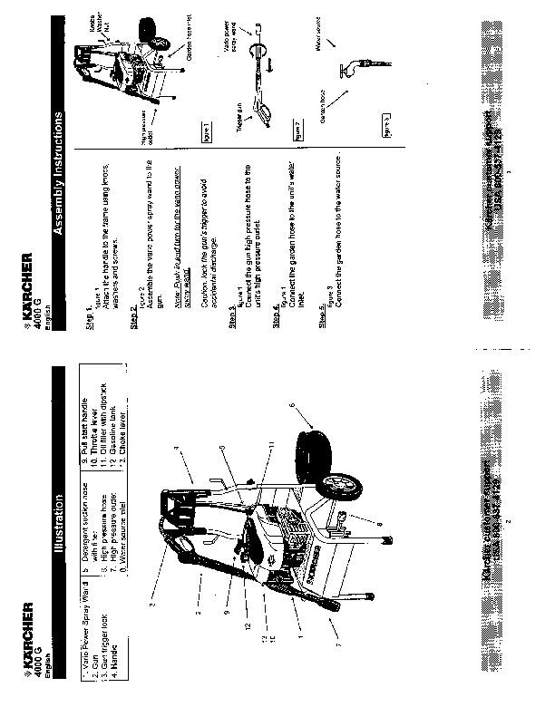 Kärcher K 4000 G Gasoline Power High Pressure Washer