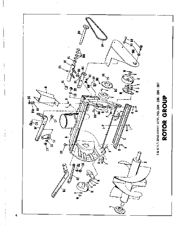 Simplicity 221 296 297 297 295 Snow Blower Owners Manual