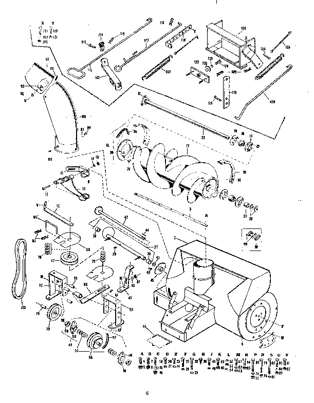 MTD 190-768 191-768 36-Inch Snow Blower Owners Manual