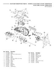 MTD PPN 31A-040-401 Snow Blower Parts