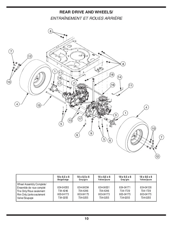 MTD RZT Series Tractor Lawn Mower Owners Manual