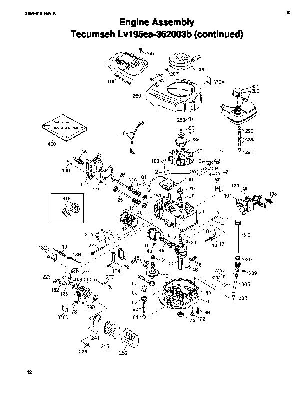 Toro 20016 22-Inch Recycler Lawn Mower Parts Catalog, 2006