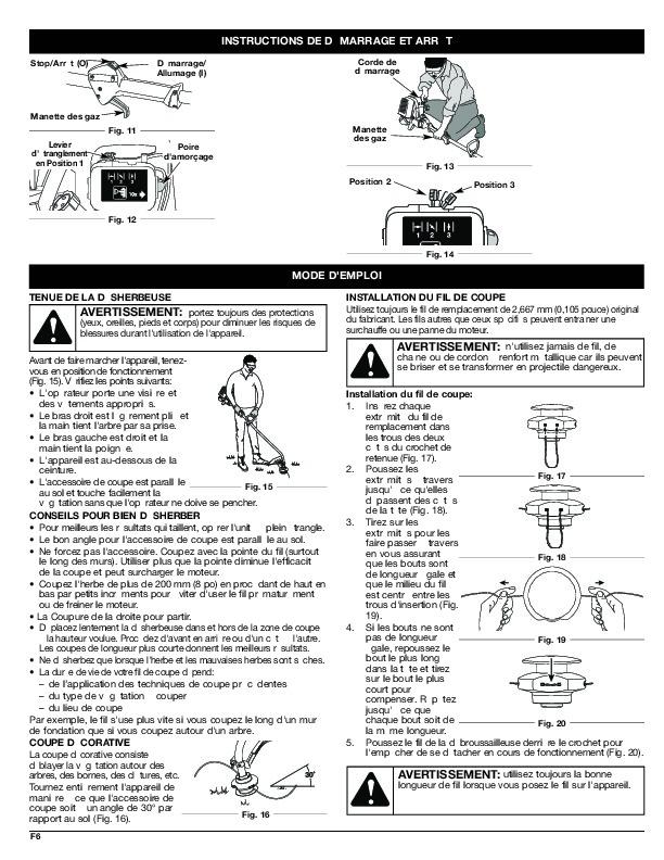 MTD Troy-Bilt TB415CS TB465SS 4 Cycle Trimmer Lawn Mower