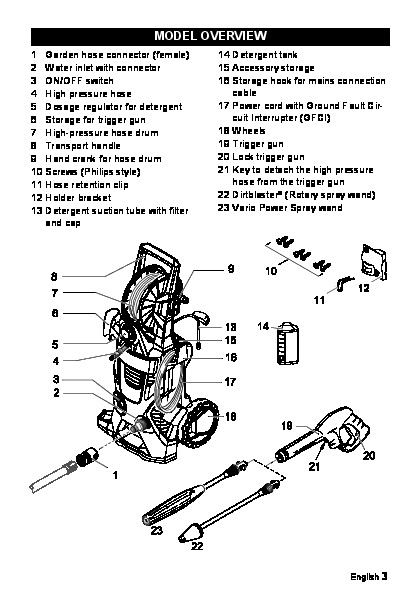 Kärcher K 5.540 K 5.740 Electric Power High Pressure