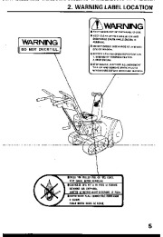Honda HS55 Snow Blower Owners Manual