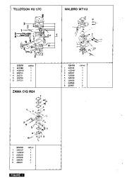 McCulloch Promac 364 374 Chainsaw Service Parts List