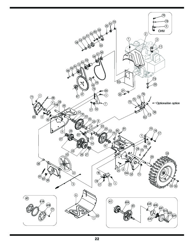MTD Columbia 769-03265 Snow Blower Owners Owners Manual
