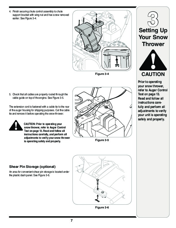 MTD Columbia 769-03265 Snow Blower Owners Manual