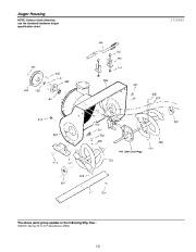 Murray Walk Behind 1695720 Snow Blower Parts Manual