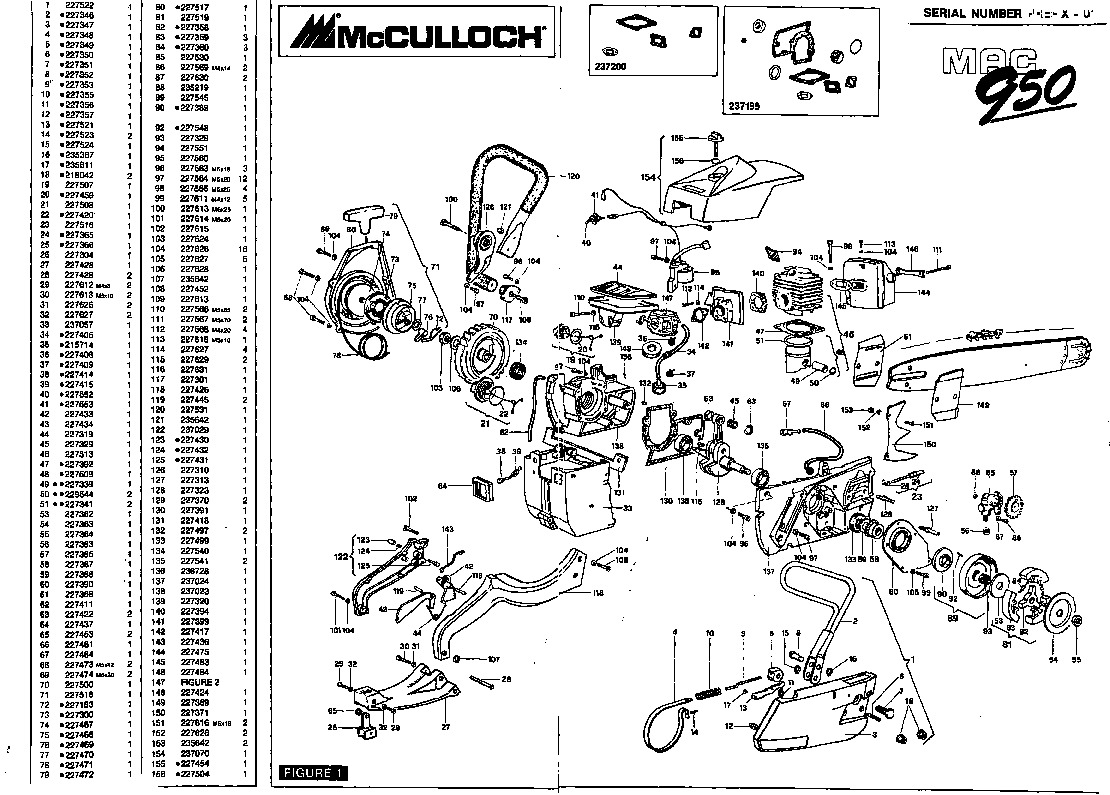 stihl fs 56 parts diagram wiring of refrigerator trimmers list free for you mcculloch mac 950 chainsaw 1990 1991 1992 1993 trimmer lookup 45