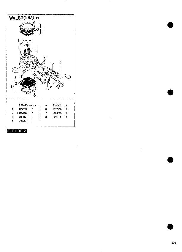 McCulloch Mac 950 Chainsaw Parts List, 1990,1991,1992,1993