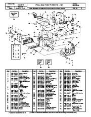 Poulan Pro 285 305 335 Chainsaw Parts List, 2000