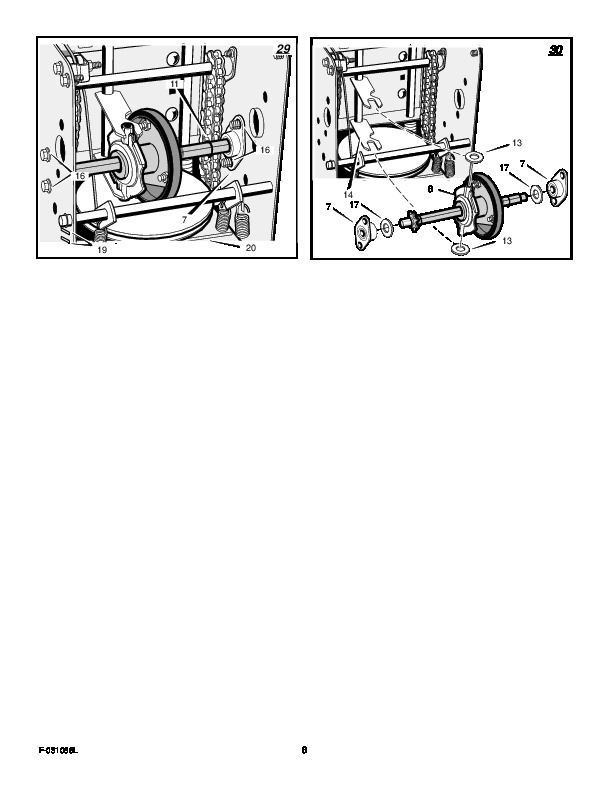 Murray 629108X84A Snow Blower Owners Manual