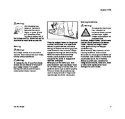 STIHL HS 75 80 Hedge Trimmer Owners Manual