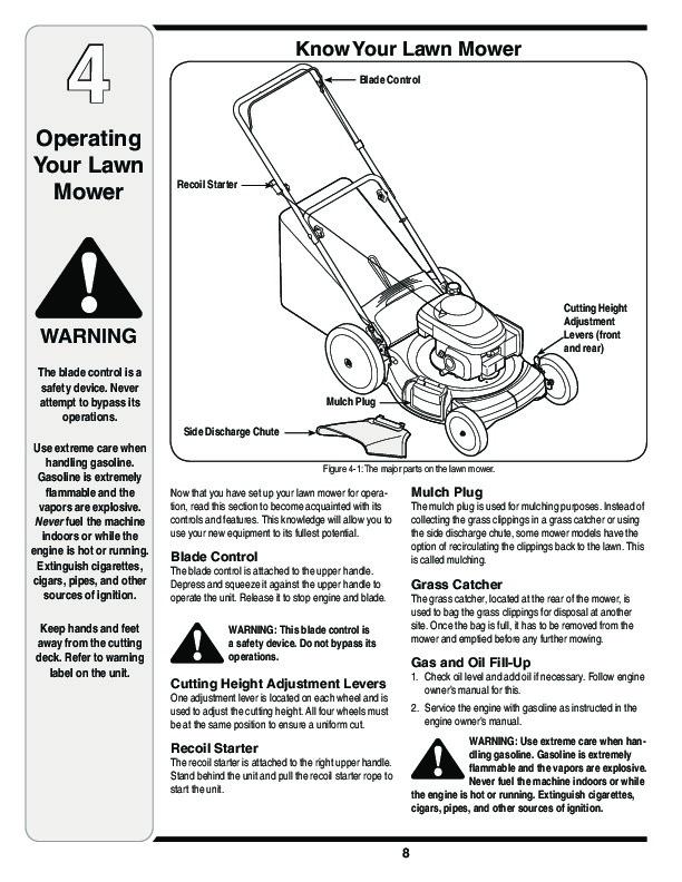 MTD Troy-Bilt 540 Series 21 Inch Hi Wheel Lawn Mower