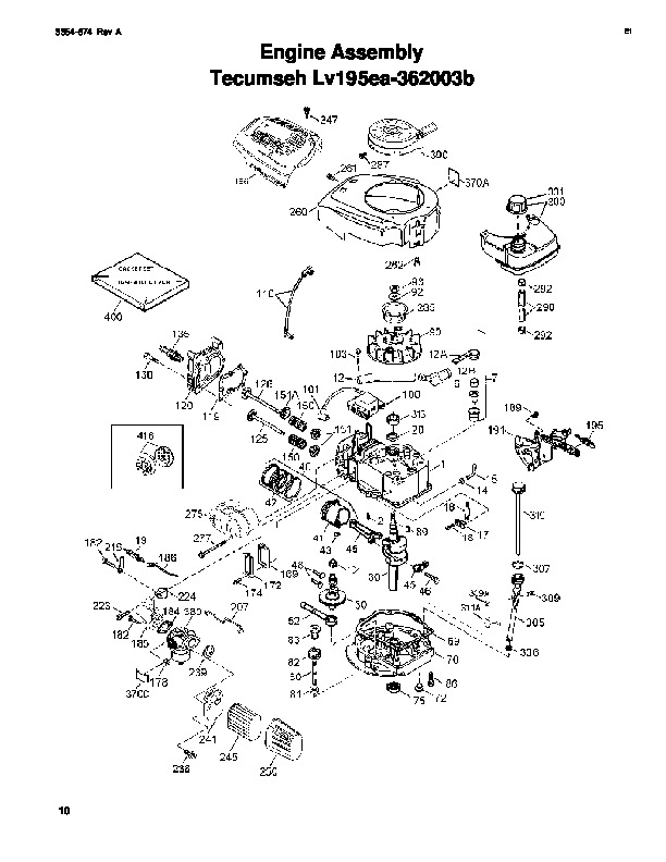 Toro 20013 22-Inch Recycler Lawn Mower Parts Catalog, 2006