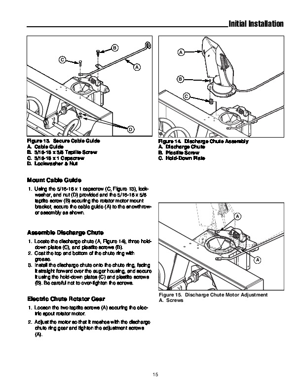 Simplicity 1694404 47-Inch Snow Blower Owners Owners