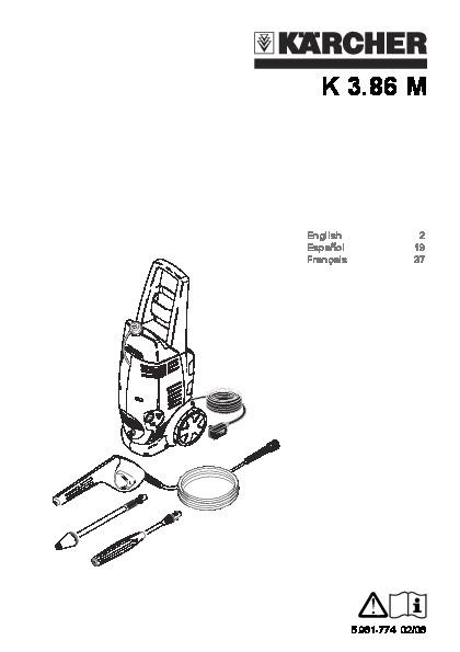 Kärcher K 3.86 M Electric Power High Pressure Washer