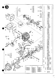 McCulloch TimberBear 211574E Chainsaw Service Parts List, 1995