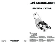 McCulloch EDITION 1XXL R Lawn Mower Owners Manual, 2008