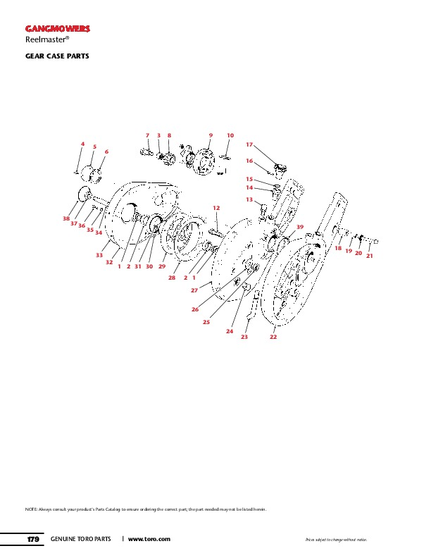 Toro GANG MOWERS Transport Frame Owners Specs