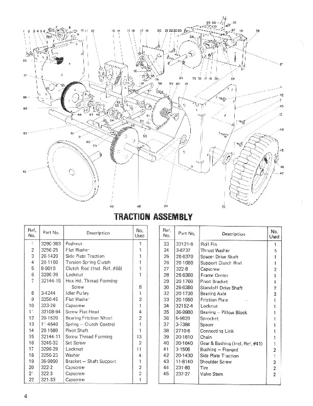 Toro 38040 524 Snowblower Manual, 1985