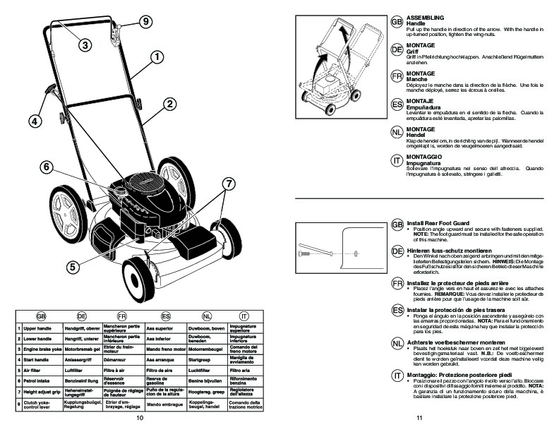 McCulloch MM6556 SMD Lawn Mower Owners Manual, 2007