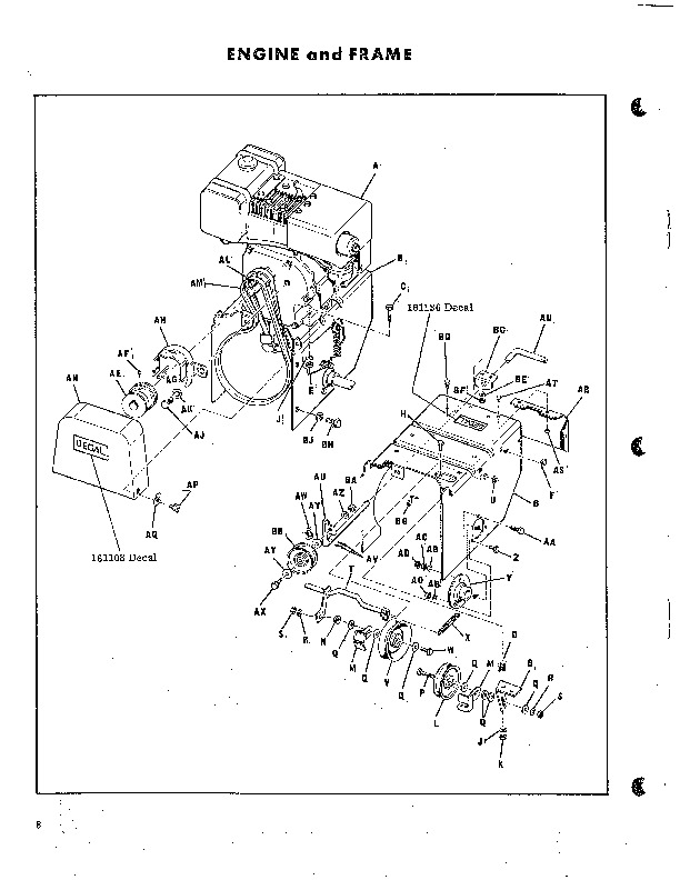 Simplicity 430 7 HP Two Stage Snow Blower Owners Manual