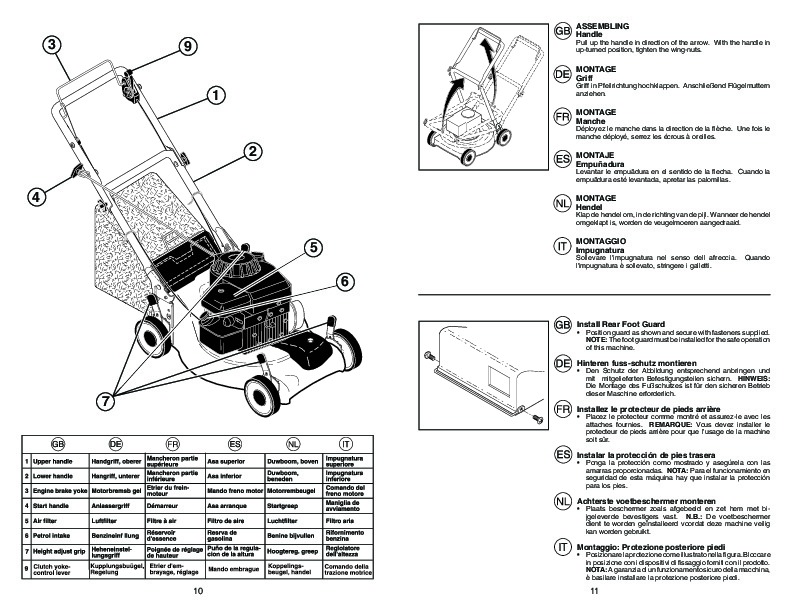 McCulloch 4051 CM Lawn Mower Owners Manual, 2007