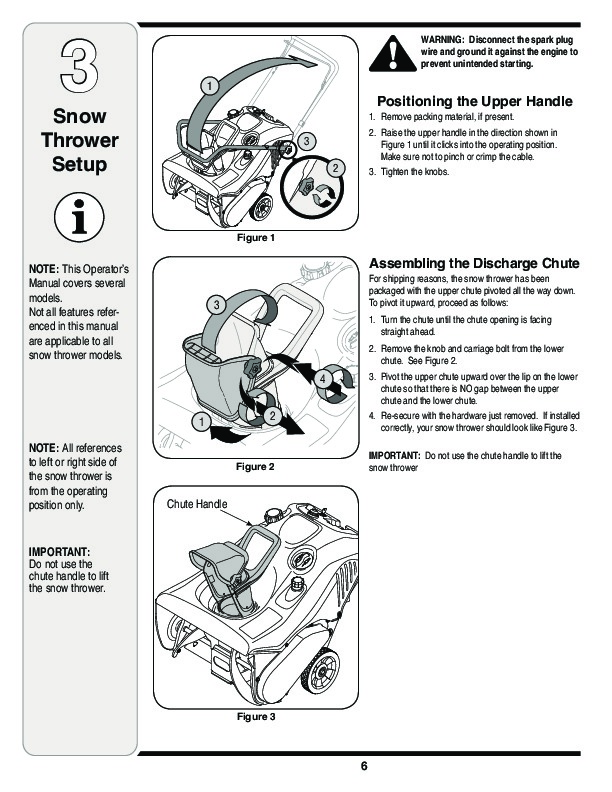 MTD 2B5 295 E2B5 E295 Snow Blower Owners Manual