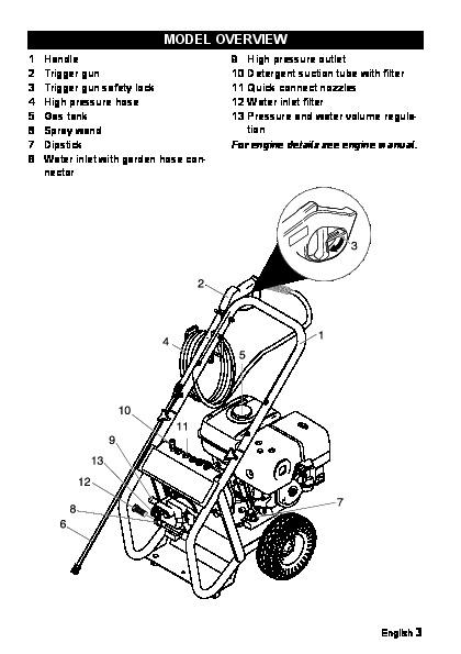 Kärcher G 4000 RH Gasoline Power High Pressure Washer