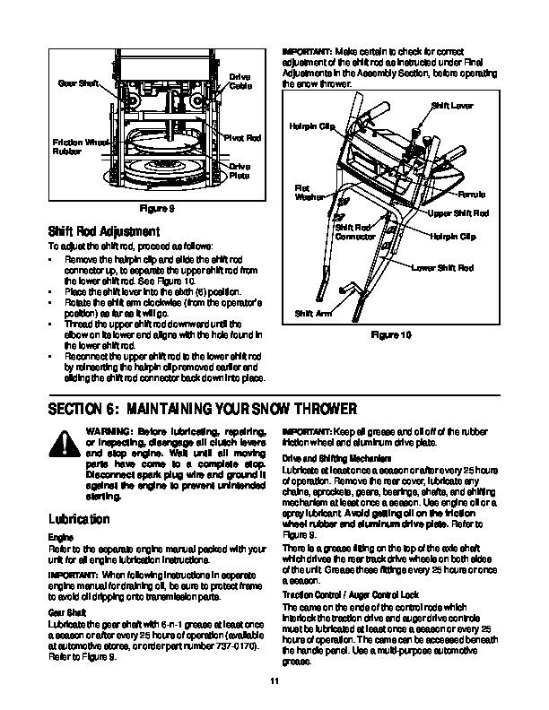 MTD Cub Cadet 31AH4Q3G100 Snow Blower Owners Owners Manual