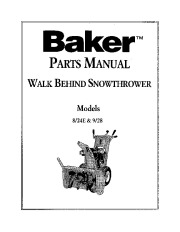 Snow Blower Manuals