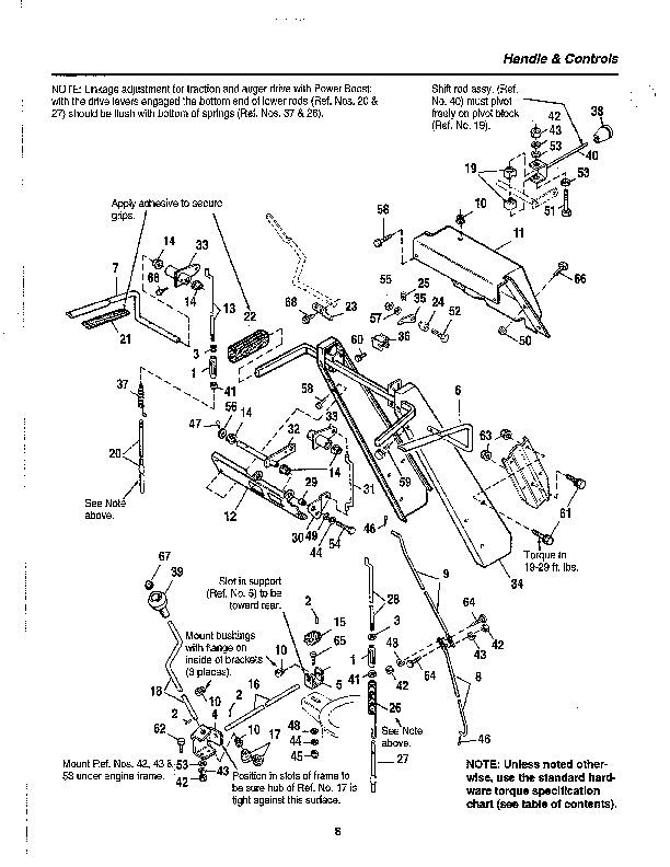 Simplicity 8-24 9-28 Snow Blower Parts Manual