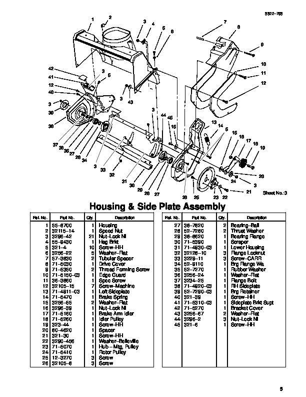 toro ccr 2000 parts diagram vauxhall zafira wiring 1000e