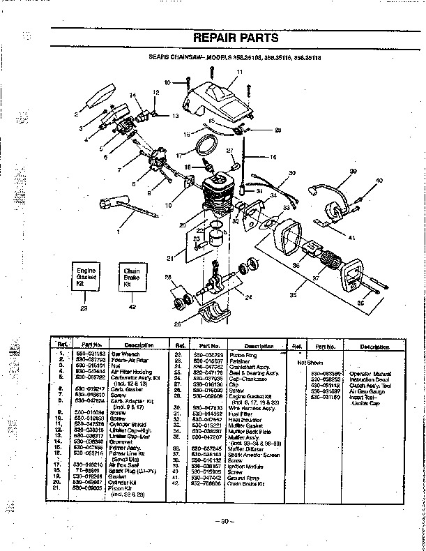 Mcculloch Chainsaw Parts Diagram. Diagram. Auto Wiring Diagram