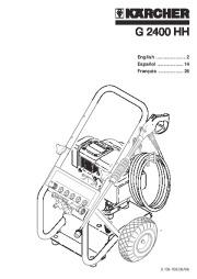 Kärcher G 2400 HH Gasoline Power High Pressure Washer