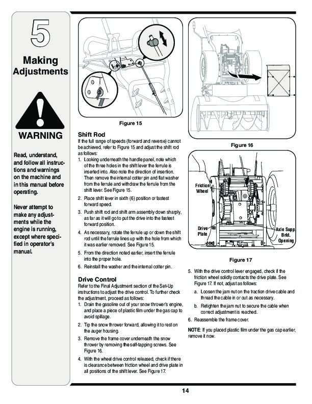 MTD Yard Man 769-03342 Snow Blower Owners Owners Manual