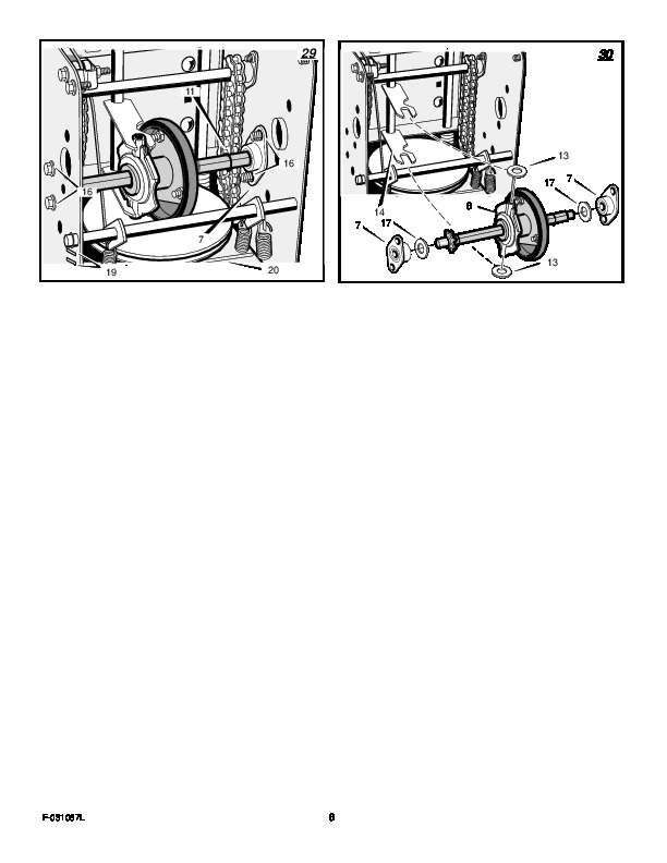 Murray 627808X84A Snow Blower Owners Manual