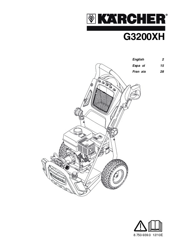Kärcher G 3200 XH Gasoline Power High Pressure Washer