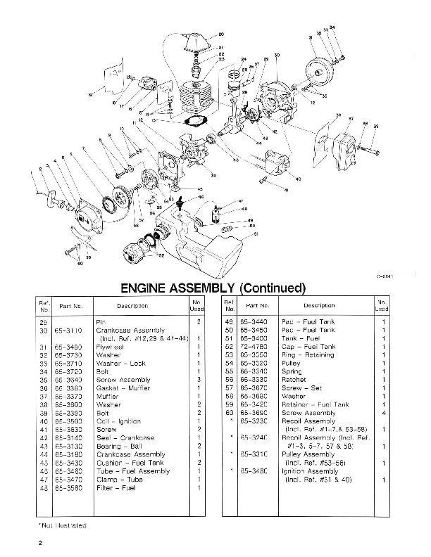Toro 30935 20cc Hand Held Blower Manual, 1990