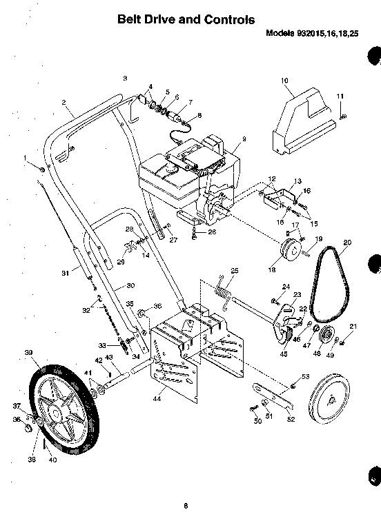 Ariens Sno Thro 932 Series Snow Blower Parts Manual