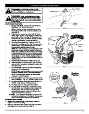 MTD Troy-Bilt TB70SS 2 Cycle Gasoline Trimmer Owners Manual
