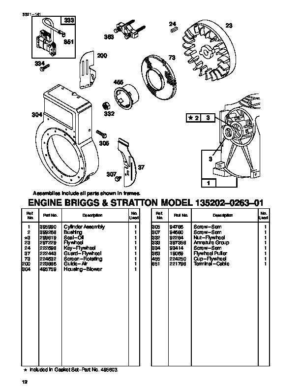 Toro 62924 5 hp Lawn Vacuum Blower Parts Catalog, 1998