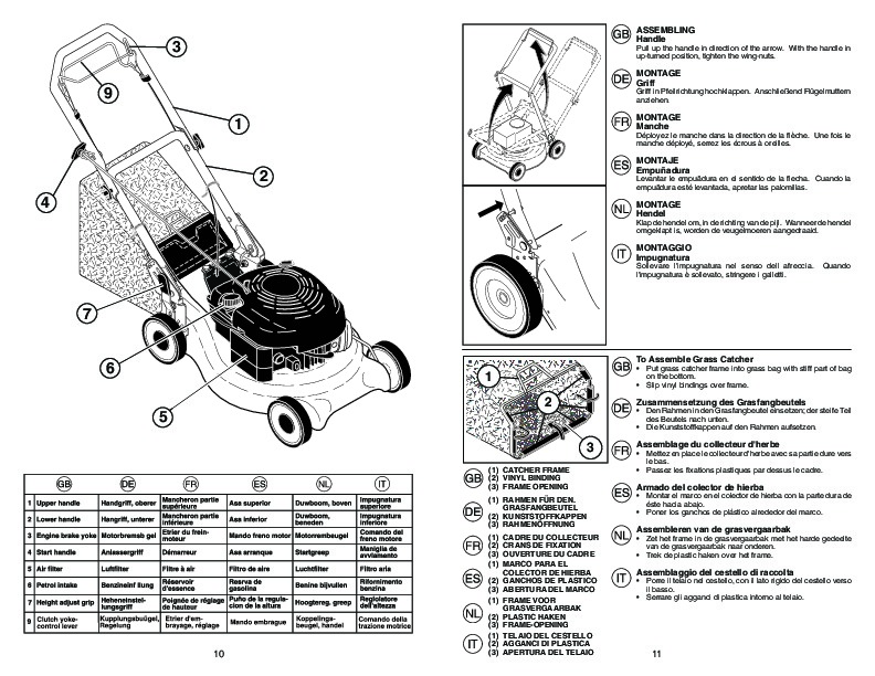 McCulloch M553 CM Lawn Mower Owners Manual, 2007