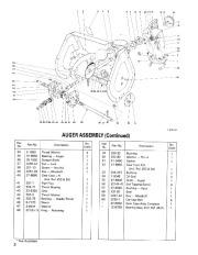Toro 3521 521 38035 38052 Snow Blower Parts Catalog 1989