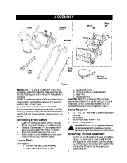 Craftsman 247.888540 28-Inch Snow Blower Owners Manual